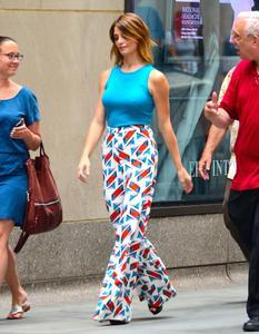 Ashley Greene at NBC studios in NYC 07-14-2014