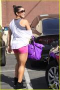 Aly Raisman at DWTS studios in LA 4/3/13