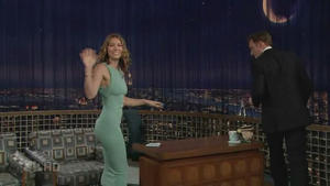 Jessica Biel - Late Night with Conan O'Brien (2007)