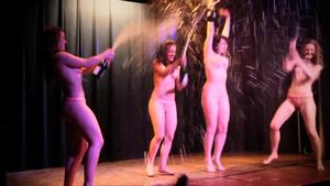 Cabaret Rouge Nude on Stage Theater