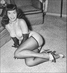 erotica Bettie page vintage