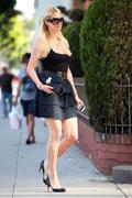 Paris Hilton Leggy Candids